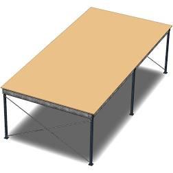 Bühnen aus Stahl für eine optimale Raumnutzung