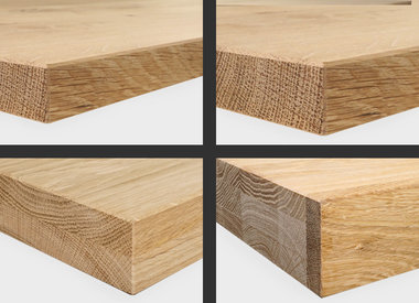 Tischgestell Metall bei Eichenholzprofi